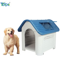 Plastic medium dogs houses for 35'' Waterproof luxurious roof skylight