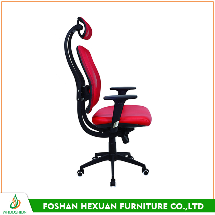 High quality adjustable armrest mesh office chairs