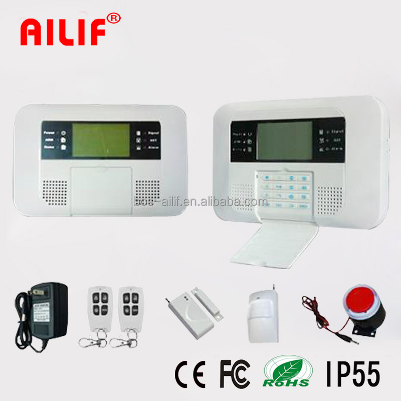 GSM PSTN Home Security Alarm With Quad Frequency