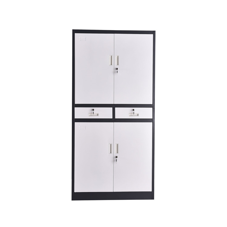 2-Drawer A4 Keylock Steel Filing Cabinet