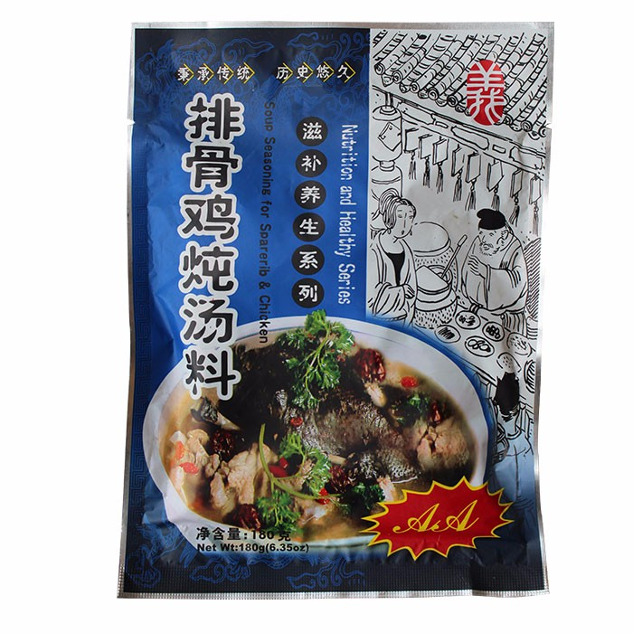Yidayuan Soup Seasoning for Sparerib & Chicken 180g per Bag, DunTangLiao, Nutrition and Healthy Series