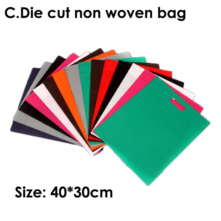 HIT factory supply customized eco-friendly high quality budget reusable grocery pp oem tote folding shopping non woven bag
