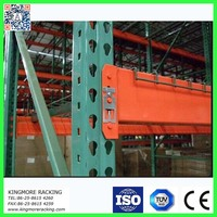 Industrial Storage System Warehouse Metal Shelving Teardrop Style Steel Pallet Racks
