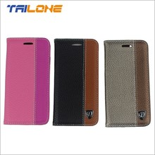 Cell phone PU leather case for iphone 6