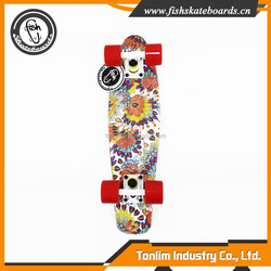 Cheap and high quality 60mm 78A smooth tunnel PU wheel custom cruiser skate board
