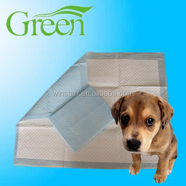 100 Count Dog Training Pads For Puppies Medium Size Absorbing Pee Pad