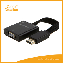 VGA to HDMI cable 1080P HDMI Male to VGA Female Video Converter Adapter Cable for PC DVD HDTV