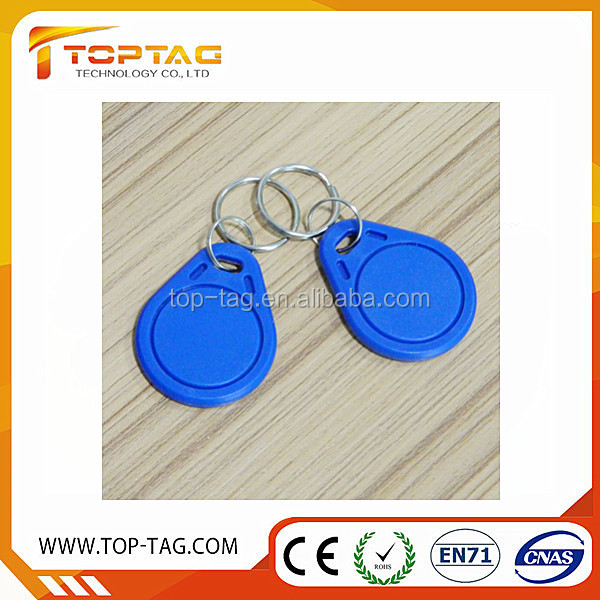 Colorful Smart writable T5577 RFID tag NFC Key Fob with EM4200 TK4100