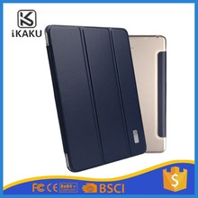2017 KAKU New Product 3 Folding camouflage case for ipad pro 9.7 totu clear leather case