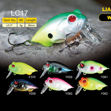 Discount Fishing Gear 38mm 5g Crankbait Bait For Bass Fishing Lures