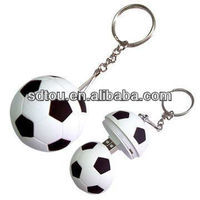 OEM football shape wholesale price usb flash drive for promotional gift 1GB 2GB 4GB 8GB