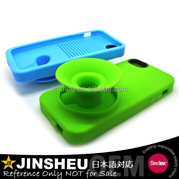 promotional funky speaker mobile phone silicon case