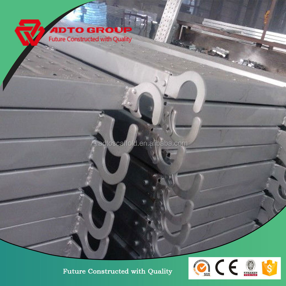 China Manufacturer ADTO group walk aluminum plank decking used construction aluminum planks for trailers