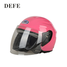 Cheapest motorcycle half face abs helmet with pc visor