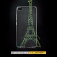 Ultra Slim Clear Rubber Silicone Soft TPU Case Cover For Lenovo S90