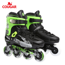 COUGAR professional adults inline skate roller skates for jumping and moving