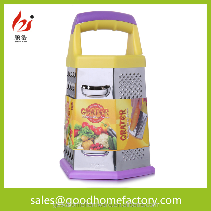Stainless steel multi 8 inch vegetable slicer and grater for cooking utensils