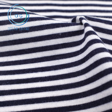 Taiwan Modal Rayon Cotton Striped Jersey Knit Fabric for Garment