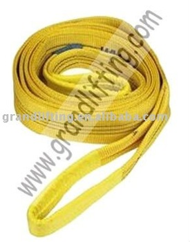 3T polyester flat webbing sling(lifting sling,round sling)
