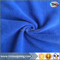 2016 Shaoxing 100%polyester knitted anti-pilling polar fleece for garments and hometextile ect.