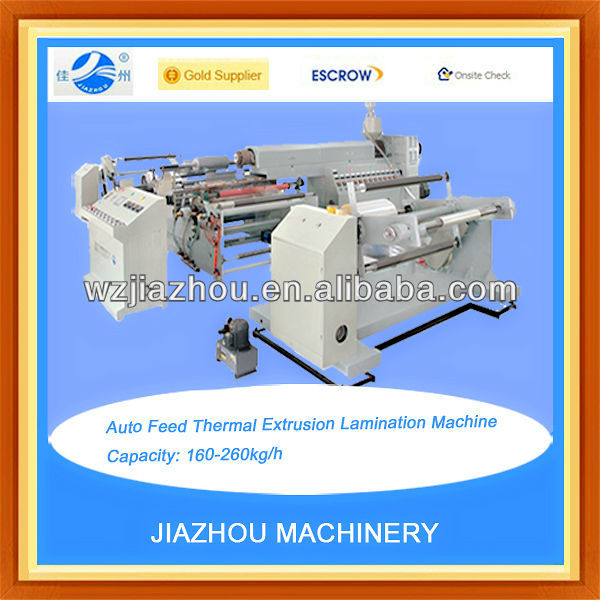 Auto Feed Thermal Extrusion Lamination Machine