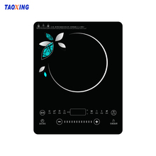6mm-12mm Induction Cooker Ceramic Glass With Black Printing