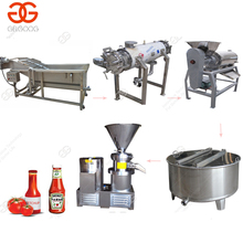 Manufacturer Price Industrial Tomato Paste Puree Fruit Sauce Processing Line Plant Tomato Ketchup Making Machine