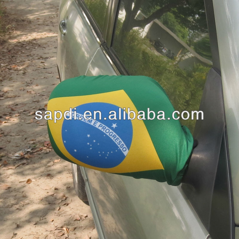 side mirror flag cover