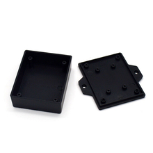 small plastic box wall mount 62*50*22mm wall mounting plastic equipment enclosureAKW01