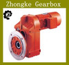 F Serial helical parallel shaft gearbox, vertical shaft gearbox