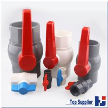 Free sample popular factory all types available pvc ball valve price list