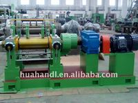 rubber machine two roll open mixing mill XK-250 (10'' mixer)