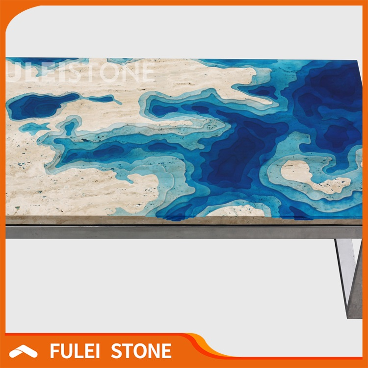 Hot Sale Polished Custom Marble Table Tops