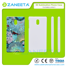 3D Blank Sublimation Phone Case for Nokia 3