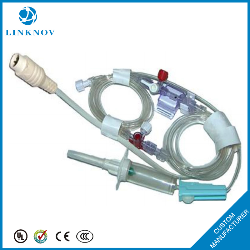 High Quality In Bulk Disposable Medical Accessories Abbott IBP Blood Pressure Transducer