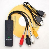 Nice USB 2.0 TV laptop Video Audio VHS to DVD HDD Converter Capture Card Adapter