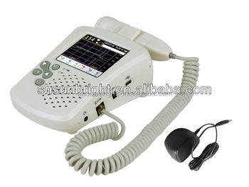 Built-in speaker baby fetal heart doppler
