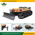 XBH 8x8-2 Amphibious reversible Snow Plough Shovel snow special car Snow Cleaning Vehicle