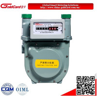 Classic diaphragm natural gas meter G2.5
