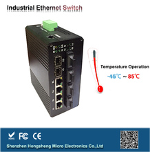 3-port 10/100M Hot Selling Excellent Power Saving Industrial Ethernet Switch with CE