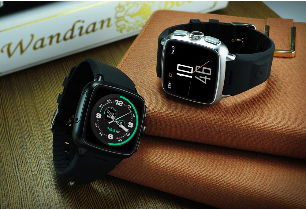 3G Wifi GPS Smart Watch Bluetooth with Android Phone Sim Z01 Android Smartwatch Single Micro Sim Card Slot