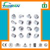 Taiwan high quality rubber compression fitting, mechanical fitting, aluminum hose fitting