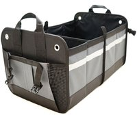 collapsible cargo container folding car trunk organizer
