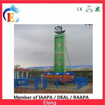 Guangzhou manufacturer kids frog jumping ,amusement park items for sale outdoor amusement park