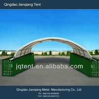 JQR2040C steel frame container tent