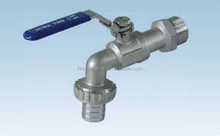 Investment Casting and best price stainless steel Bibcock ball valve