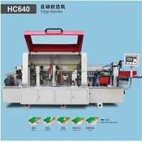 Professional wood edge binding machine/Pre- Milling Automatic Edge Binding Wood Machine/wooden edge bander machine with CE