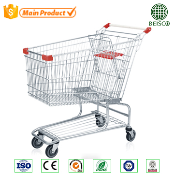 General use shopping wagon with 1 baby seat