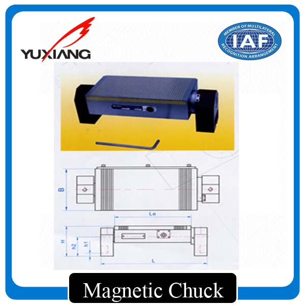 Powerful Rotary Permanent Magnetic Chuck