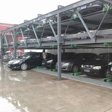 Automatic Button Car Parking Lift System